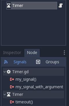 Custom signals